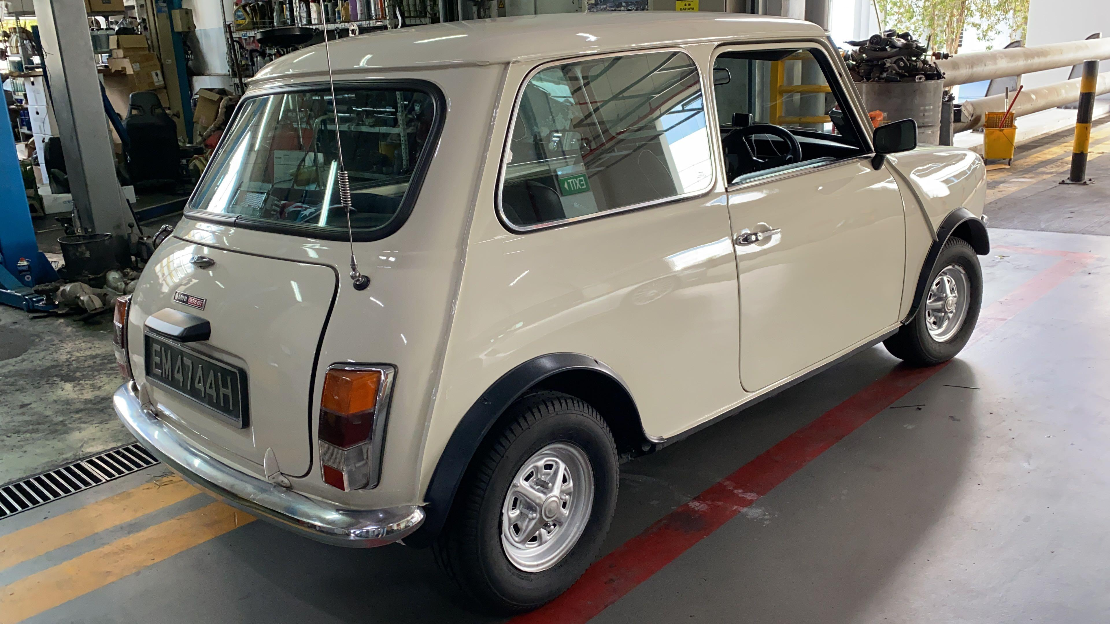Austin Mini clubman Gt 1275 Manual
