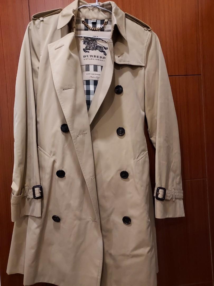 Burberry經典長版風衣(新光三越A9正貨,9成新,原價105000),限時1.9折特賣