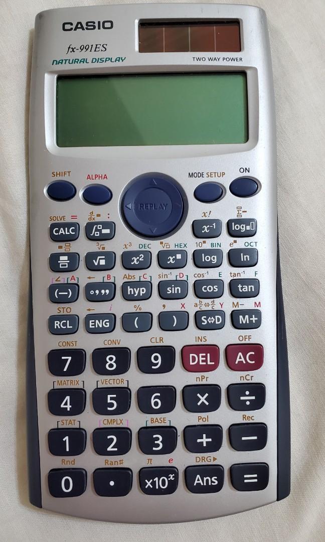 Casio fx991 ES