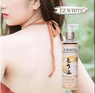 EZ white japanese tofu whitening lotion