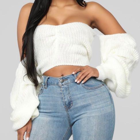Fashion Nova Sugar Sweet Sweater