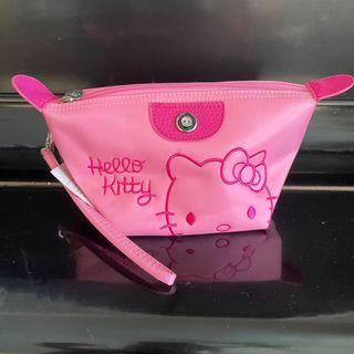 Hello Kitty 大容量手提化妝包全新含吊牌