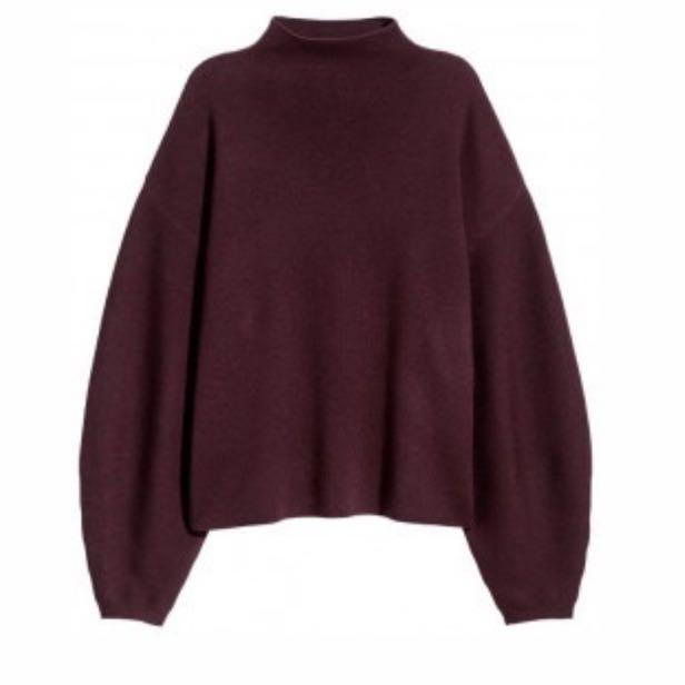 H&M Mockneck Sweater