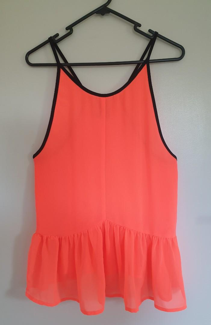 Ilabb neon orange singlet