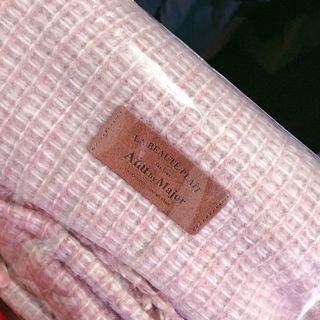 Majormade Anu 浪漫粉針織圍巾/披肩