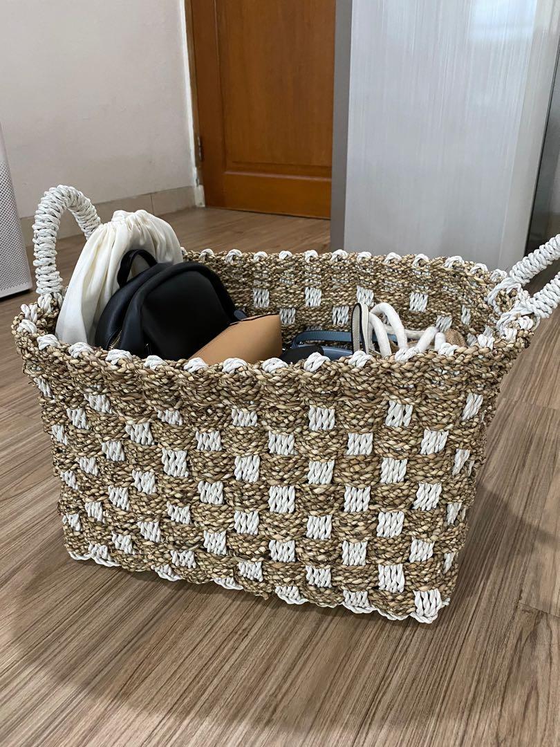 Mil&Bag Anyaman Basket Besar 40x50