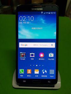SAMSUNG GALAXY Note 3 LTE N900U 16GB黑色(已過保)單手機無盒裝