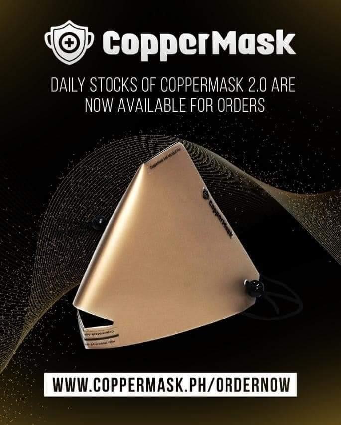ORIGINAL COPPER MASK 2.0