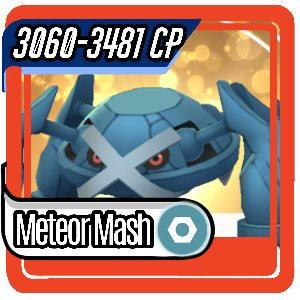 Pokemon GO Trading ● Metagross 3060-3481 CP ● Legacy Meteor Mash ● Worldwide Delivery
