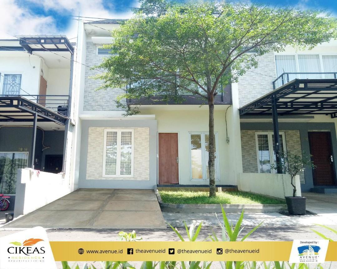 READY!! Rumah cibubur BEBAS BANJIR dengan balkon pribadi 10 menit ke tol & LRT Cimanggis