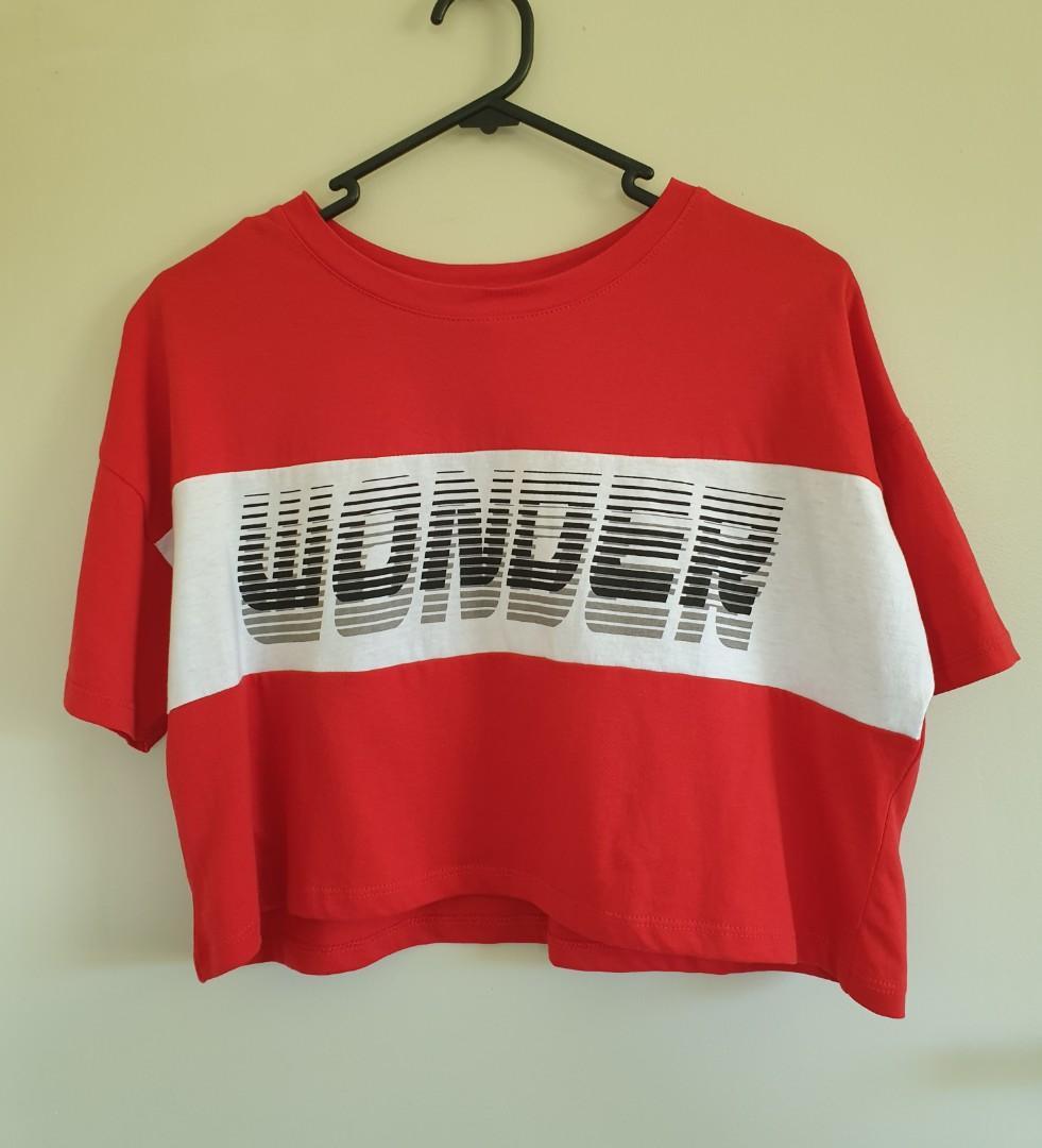 Red wonder top NEW