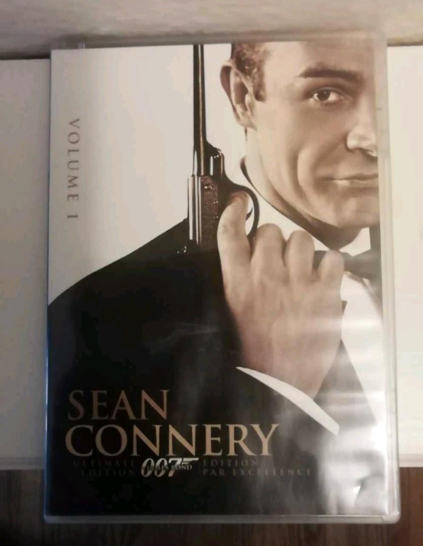 Sean Connery's 3 top movies set in good condition