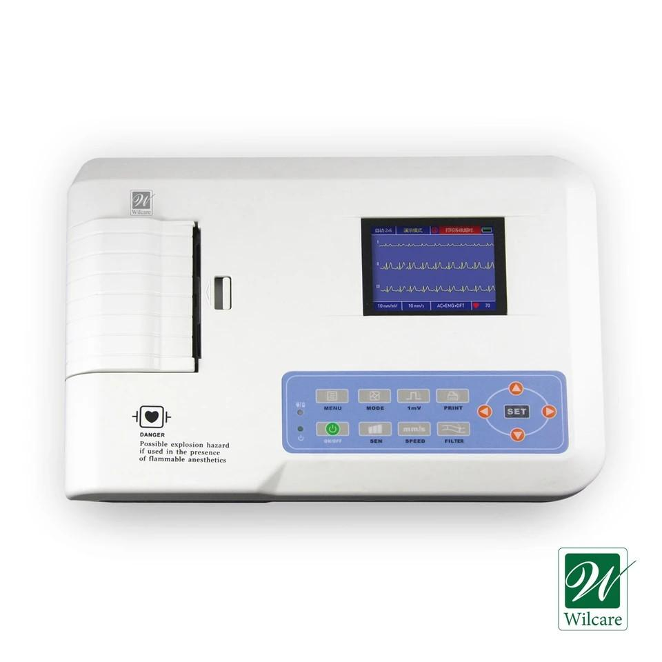 Wilcare 12 Leads ECG Machine Three Channel