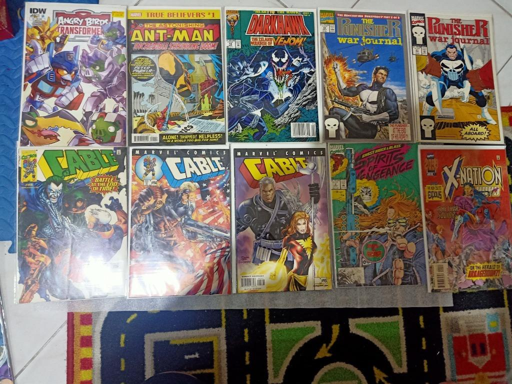 13 assorted comics - great condition