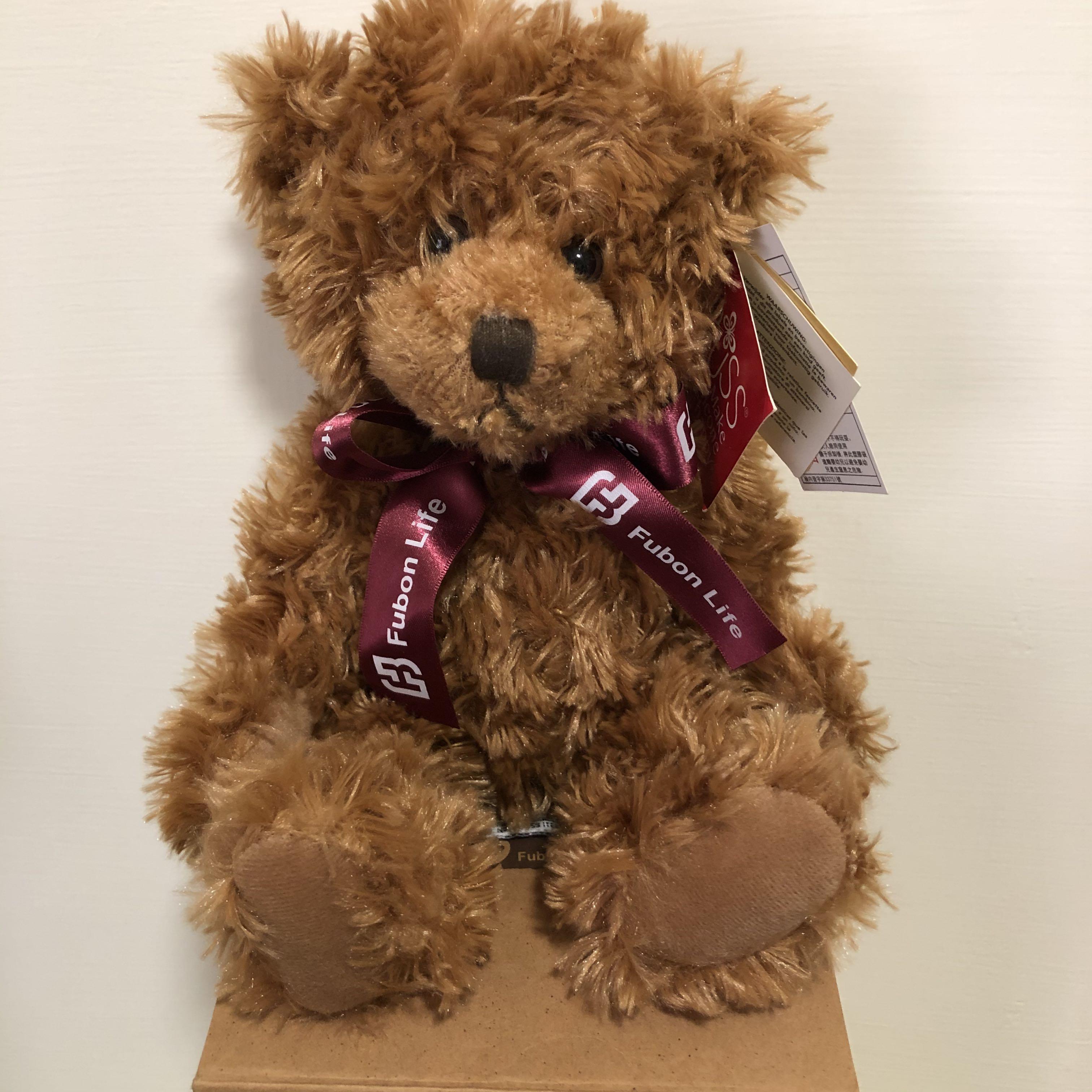 泰迪熊(富邦人壽15週年贈品)