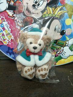 東京迪士尼 聖誕節 達菲 坐姿吊飾