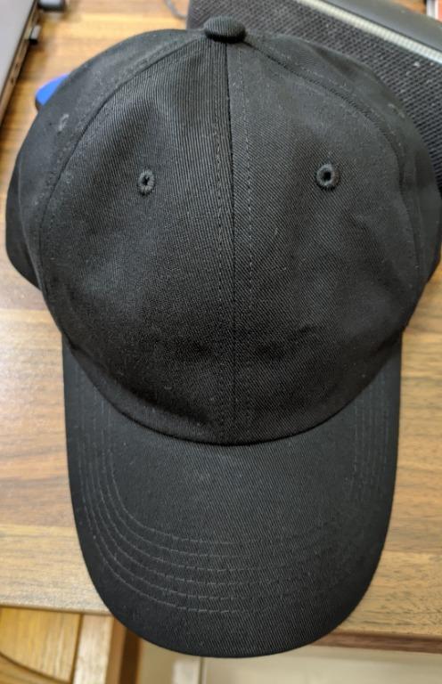 台灣製老帽 素色 黑色 扣環可調整 棒球帽 鴨舌帽 復古帽 遮陽帽 運動帽 男女款