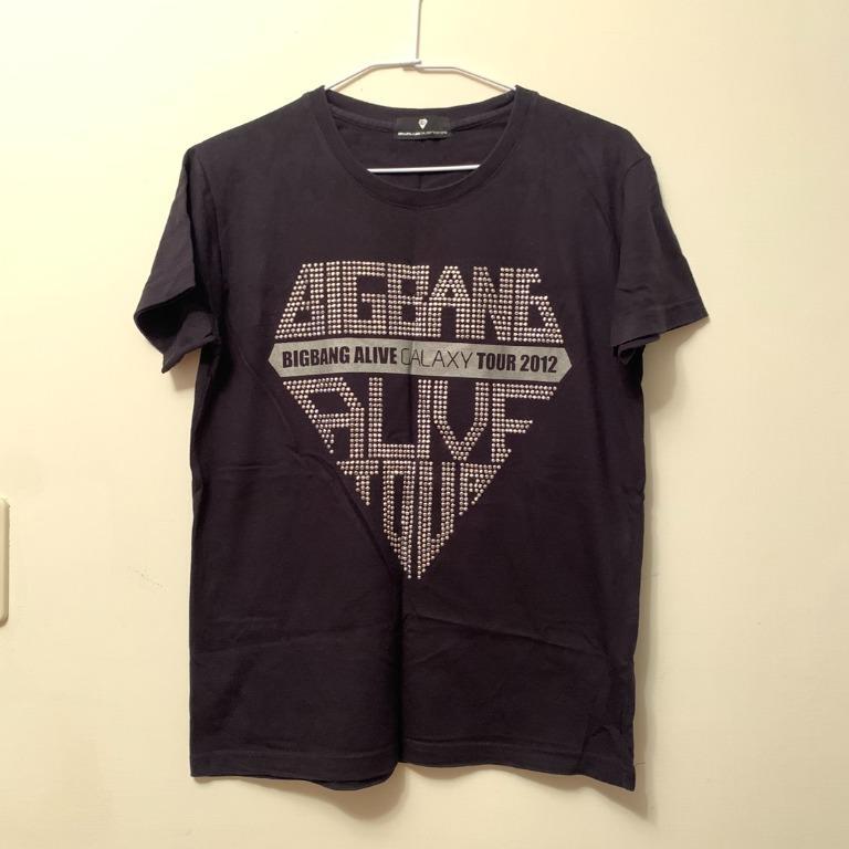 [演唱會周邊] 韓團 BIGBANG ALIVE TOUR 2012 短袖T恤
