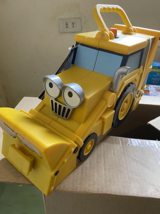 建築師巴布合金車收納盒 Bob the Builder Bob's Tool Carry Case