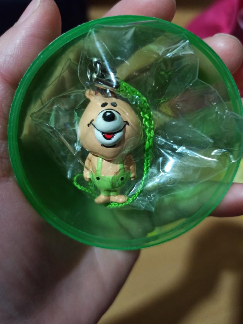 日本限定 WC 熊 扭蛋 吊飾