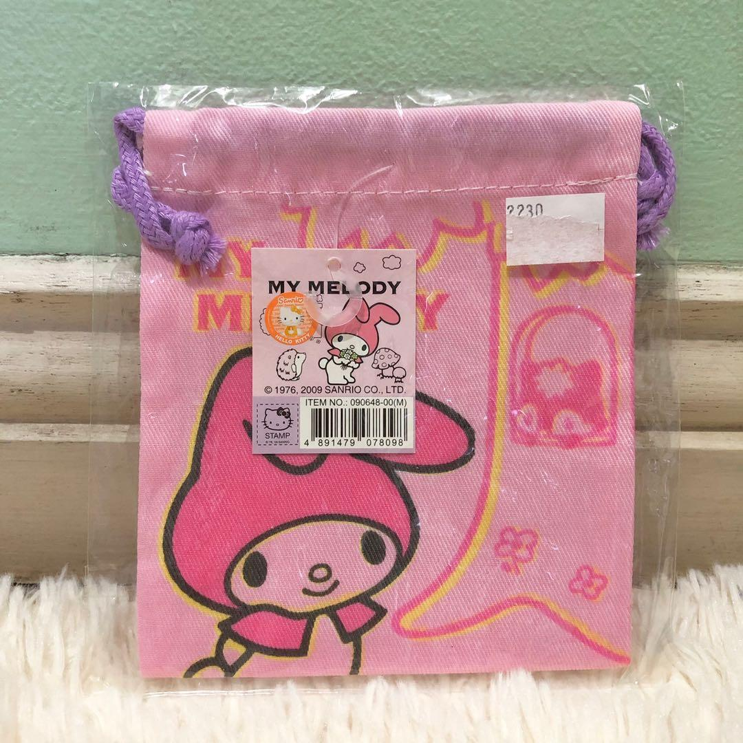 [Authentic] My Melody Mini Drawstring from Hongkong