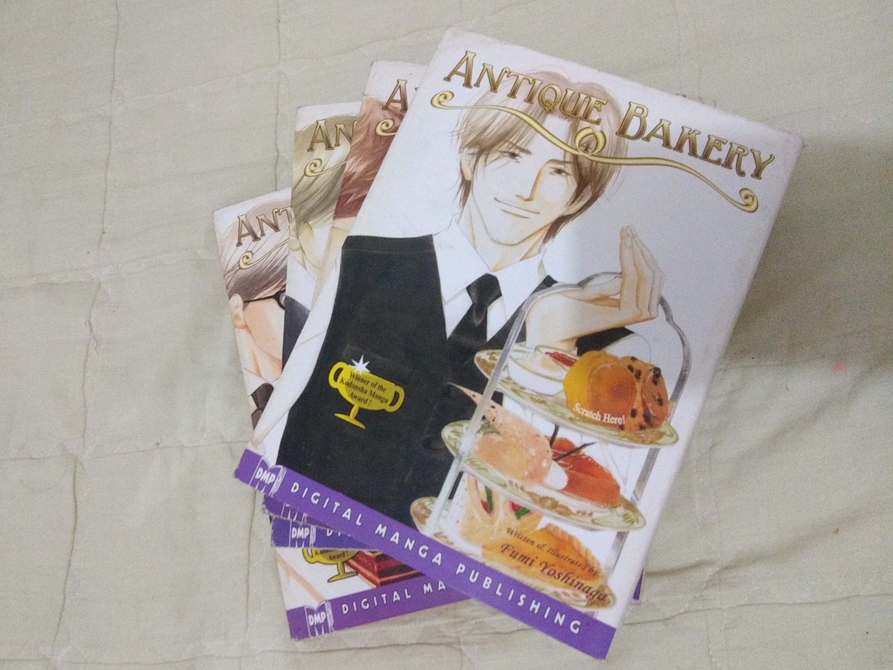 BL Yaoi (Complete set) Antique Bakery manga (Vol. 1-4)