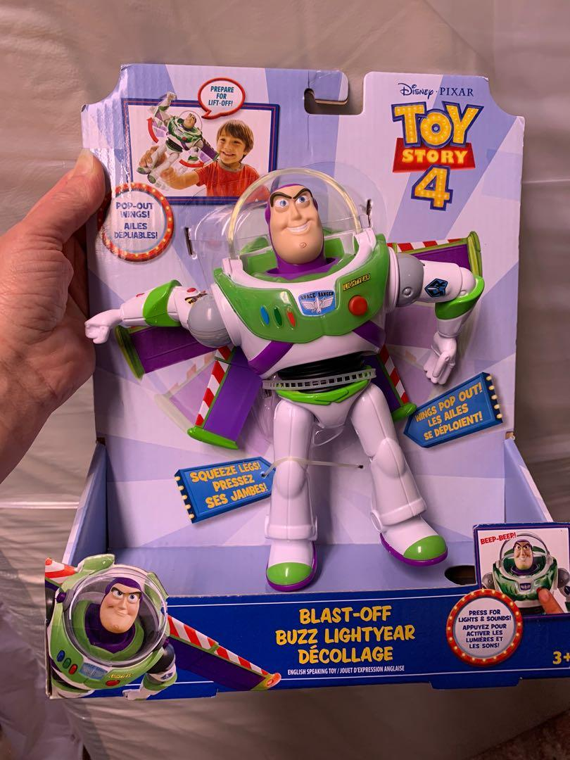 Buzz Lightyear toy and t-shirt