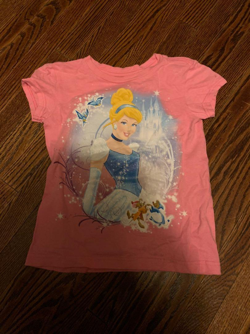 Cinderella puzzle and t-shirt size 5/6