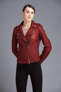Danier Red leather jacket