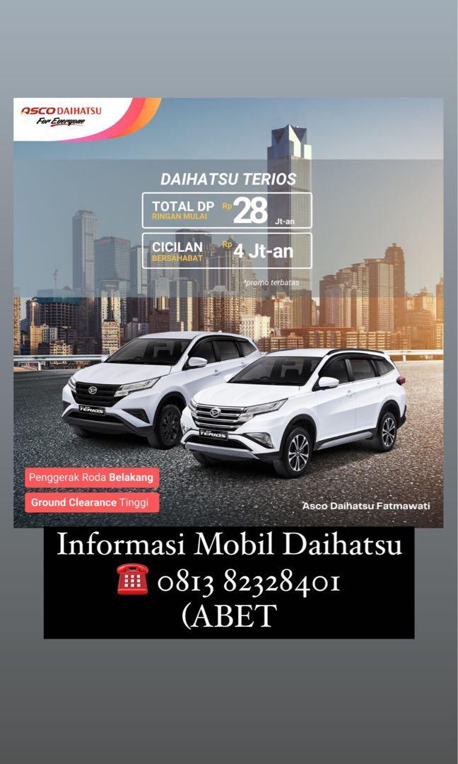 DP MURAH Daihatsu Terios mulai 28 jutaan. Daihatsu Fatmawati