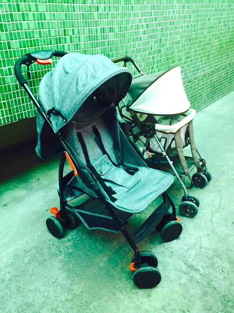 EMC 輕巧揹架車//CRTSRTU嬰幼兒推車//寶貝寵物溜溜好幫手