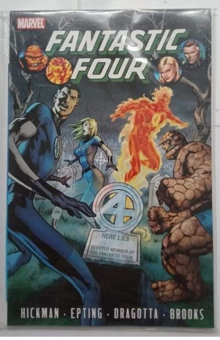 Fantastic Four by Jonathan Hickman Vol. 4 (marvel comics)