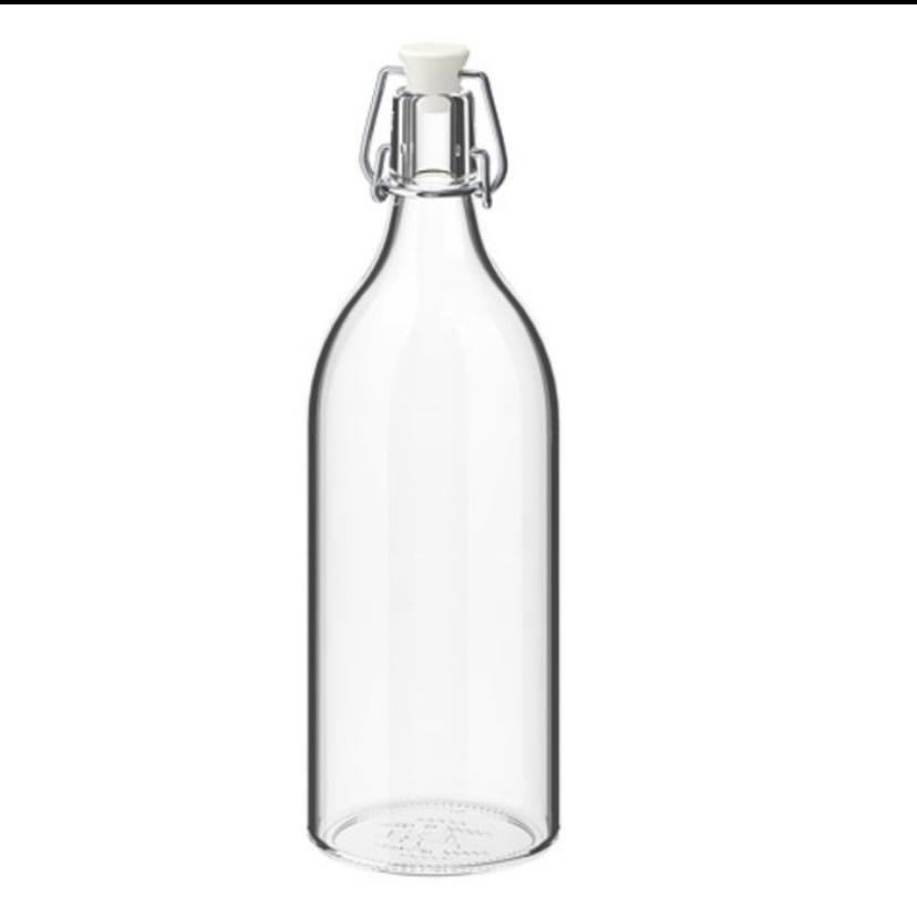 IKEA - KORKEN Botol Kaca