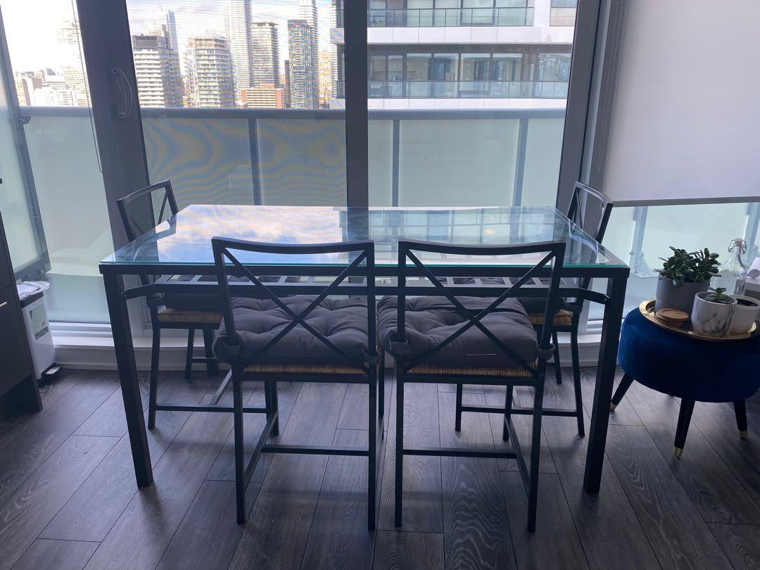 IKEA Dining Table and Chair