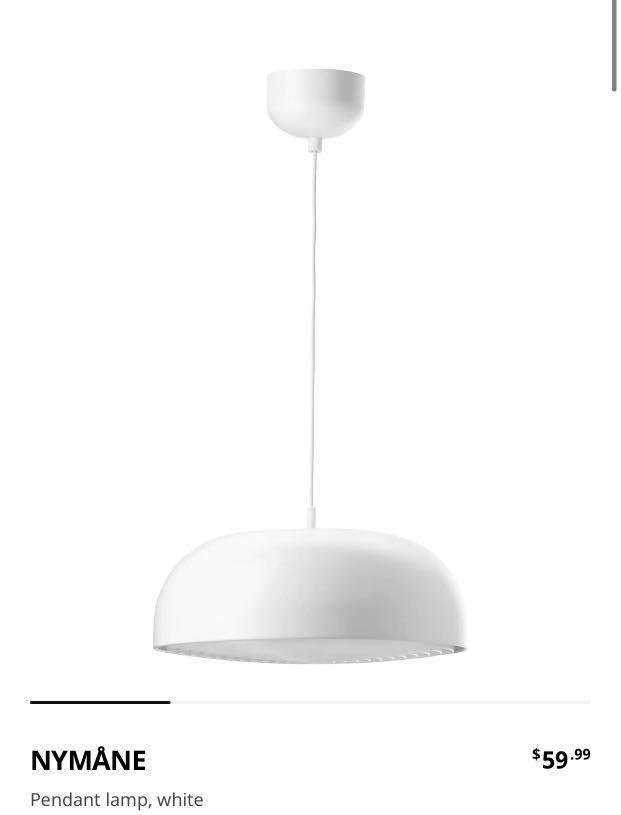 Ikea Nymane Pendant Light