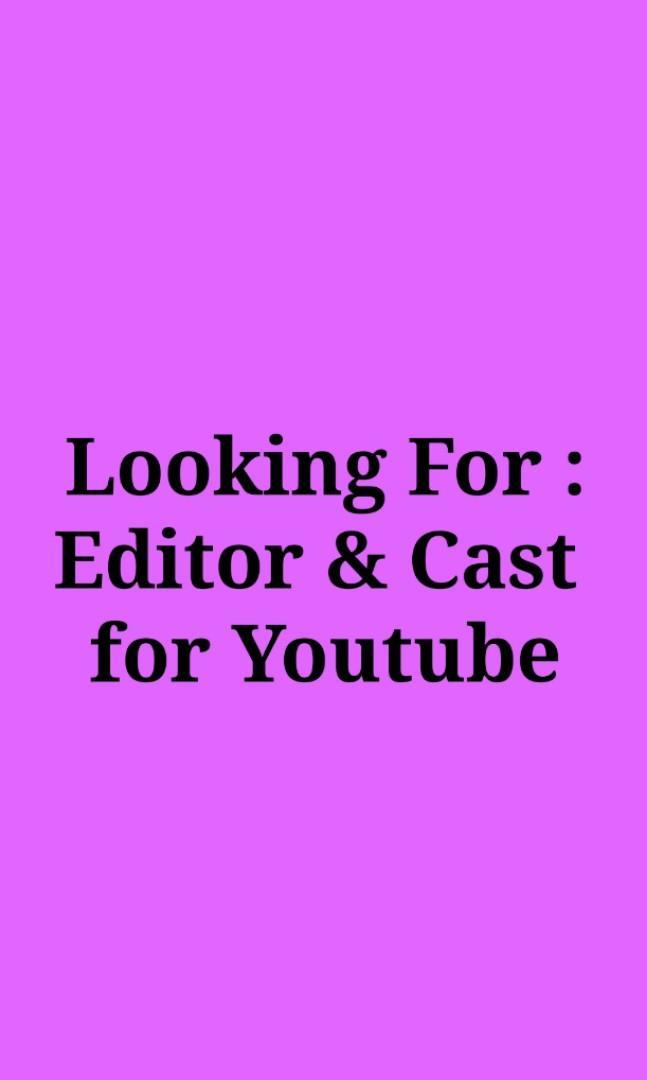 LF : Editor & Cast