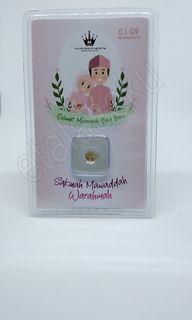 Logam mulia HD Abadi gift series versi Pernikahan 0,1 gram