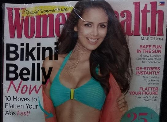 Megan Young - Women's Health March 2014