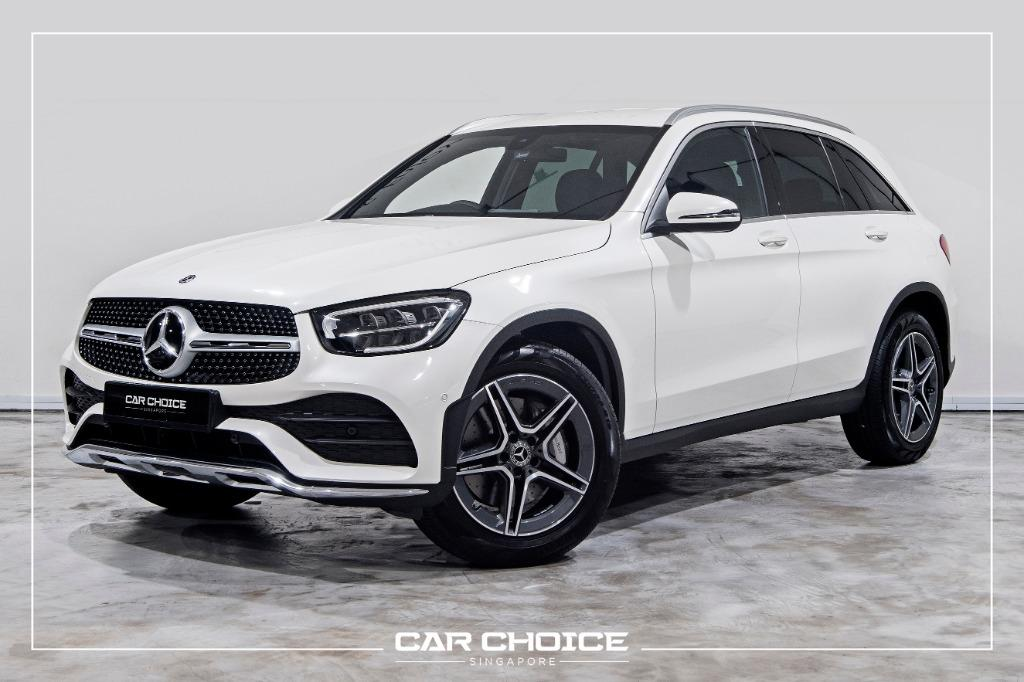Mercedes-Benz GLC300 AMG Brand New (For Lease)