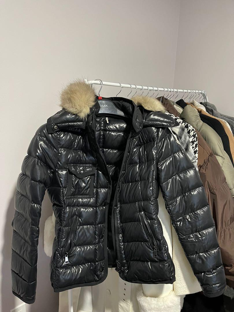 Moncler armoise jacket with fur