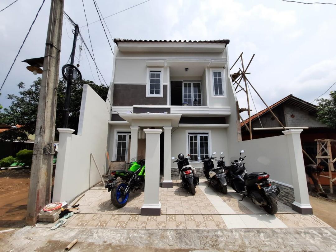 Rumah kapling 2 lantai