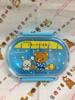 san-x 日本景品 拉拉熊 懶懶熊 便當盒
