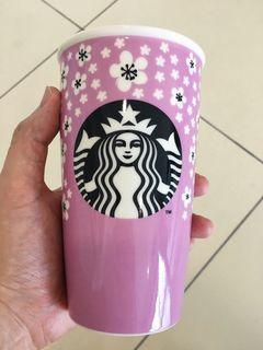 Starbucks Double Wall Mug 🌸🌸🌸