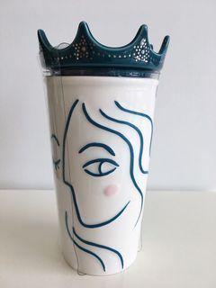 Starbucks 'Siren with a Crown' Double Wall Mug 👸🏻