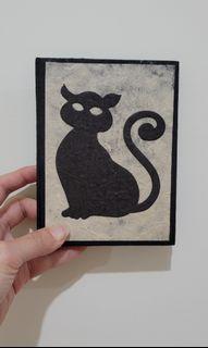 (出清)尼泊爾的手工貓咪筆本