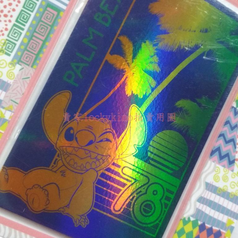 【史迪奇 悠遊卡 空卡 海灘 閃卡】星際寶貝 EASYCARD 收藏卡 珍藏卡 Stitch 迪士尼系列 yoyo 卡片
