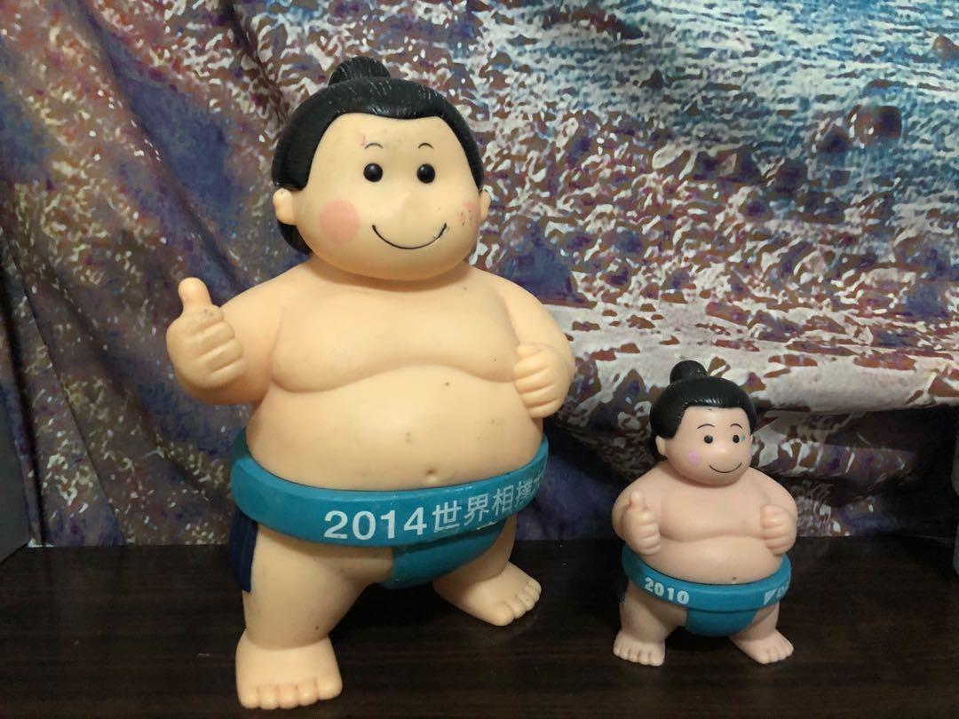 《合售》DAIKIN 大金寶寶 相撲公仔 世界相撲大賽