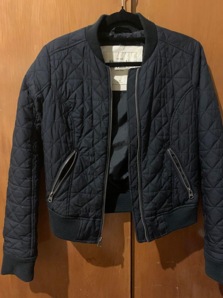 Abercrombie & Fitch bomber jacket XS