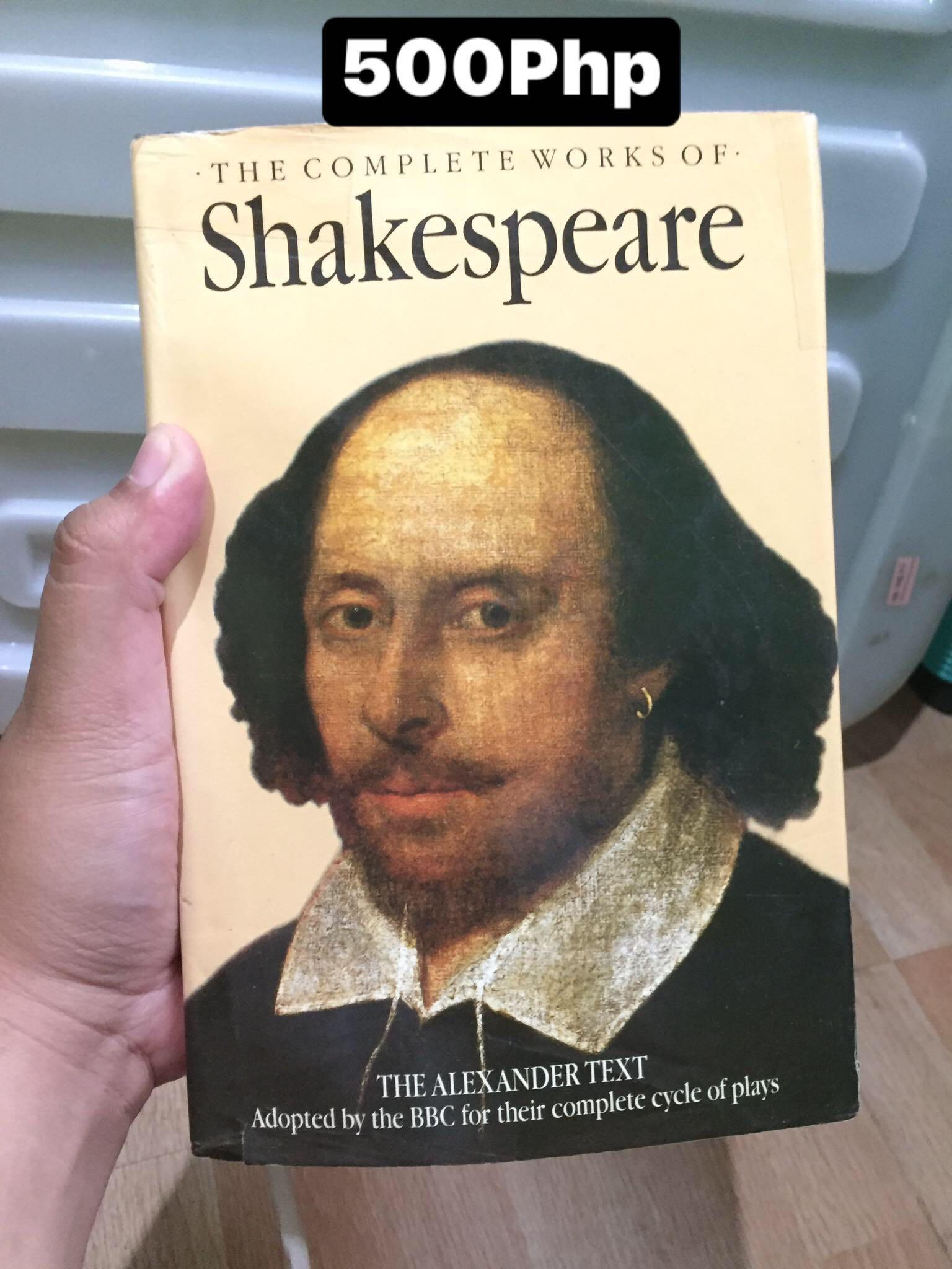 Book: Shakespeare's complete works collection