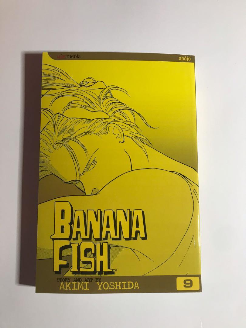 Brand New Banana Fish Manga Book Volume 9